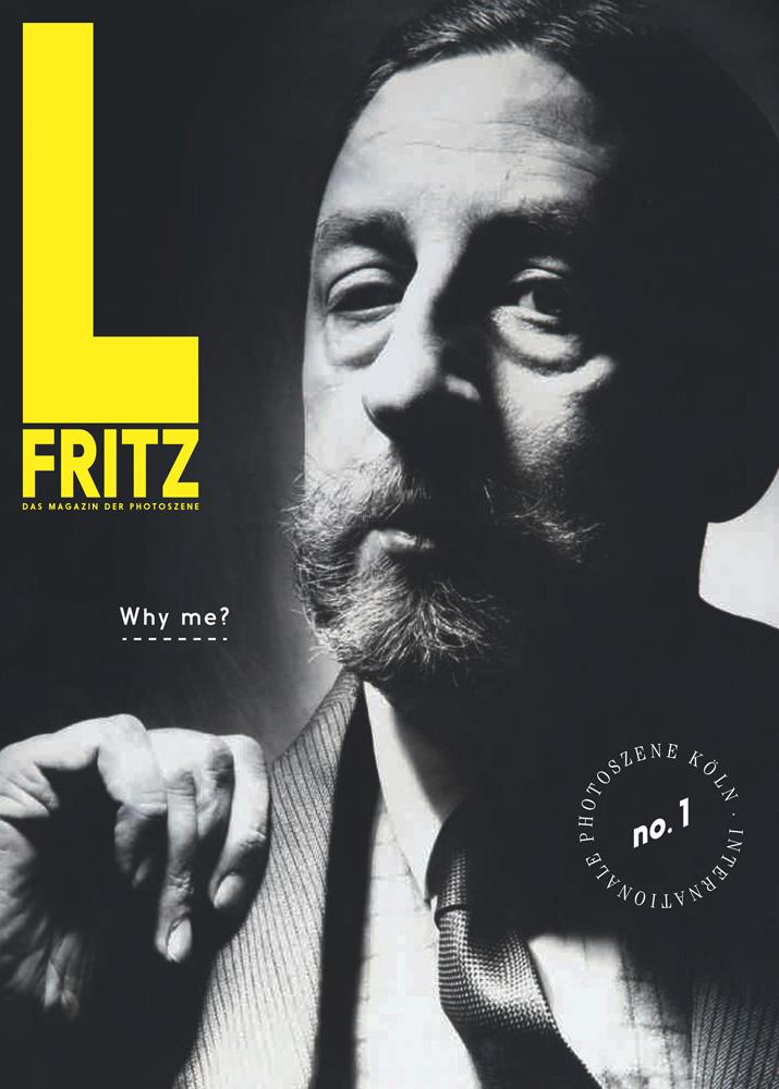 """L. Fritz - Das Magazin der Photoszene"", No.1, 2014, Cover-Photo: Chargesheimer, ""L. Fritz Gruber"", Köln 1955, Museum Ludwig, Fotografische Sammlung, ML/F 1993/150"